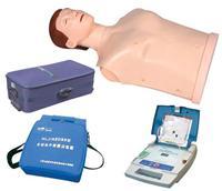 自動體外除顫模擬器(AED訓練器與CPR模型二合一功能)
