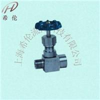 内外螺纹压力表针型阀 J21W/H型