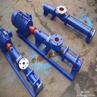 压滤机污泥螺杆泵