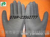 螺纹喷砂手套