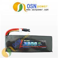 7.4V 3200MAH Li-poly RC Battery pack