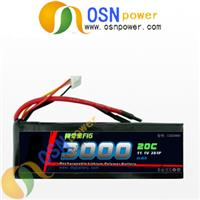 RC 11.1V Li-poly Battery Pack