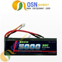 Li-polymer Battery Packs 22.2V 5000MAH 30C