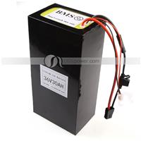 36V(37V) 30Ah Li-ion Electric Scooter Battery Pack