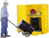 双小油桶安全储存柜 2个30gal桶,899060