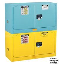 12加侖疊加式低腐蝕化學品柜 891302,29871B,891322