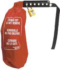 束袋式電氣安全鎖 453LMCN,16cm直徑