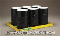 六桶擋邊型防漏盤 抗碾壓,可折疊,Enpac,5770-YE