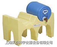 小雙桶單層分裝防漏堆棧系統 Enpac,6012-YE,與托盤配套