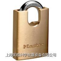 包钩黄铜挂锁 Master lock,2240,40mm宽锁体,6mm粗锁钩,小号