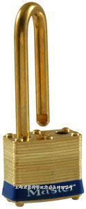 黃銅千層鎖(40mm寬鎖體) Master lock,4LF,4KALF,7mm粗鎖鉤,中鉤38mm