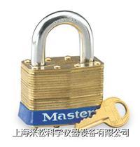黄铜千层锁(51mm宽锁体) Master lock,6,6KA,6B,6KAB,10mm粗锁钩,短钩25m