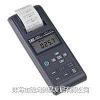 列表式温度计(带打印)TES-1304