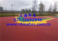 供应嘉兴胶粘石透水混凝土/上海露骨料透水地坪做法 BES-06