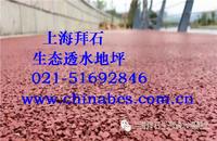供应江苏广场艺术地坪/胶粘石透水地坪保护剂 BES-10