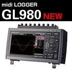 日本图技GL系列数据记录仪: midi LOGGER GL980