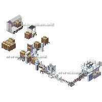 自动纸箱包装机、生产线-华联包装机械