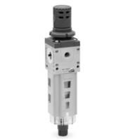 尺寸圖描述CAMOZZI減壓器/過濾器二聯件MX3-1-FR0000
