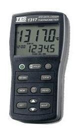 双路白金电阻温度表TES-1318 TES-1318