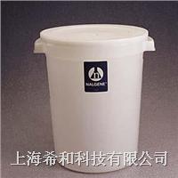 美国Nalgene 7142大号圆形容器(带盖),高密度聚乙烯 7142