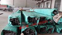 SUS304定尺不銹鋼無縫方管外表面拉絲 80*80*4