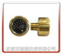 25MM轴向迷你型气压表、无牙式迷你表、SNS迷你型气压表,微型迷你气压表 25MQ-B01
