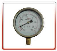 100MM径向耐震真空压力表  100UL-AZ001