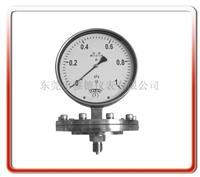 不锈钢膜片压力表 YPFB-1001