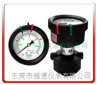 轴向全PP隔膜压力表 PPFC-P03