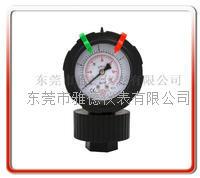 新款单面PP一体成型隔膜压力表  PPFC-PY01-4