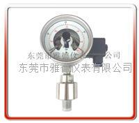 100MM径向进口款全钢电接点压力表 100DX-LA04