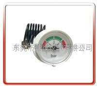 28mm带毛细管水压表 壁挂炉水压表  蒸气压力表 28QZ-D014
