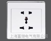 JCCZ2-2B3-1A一位多功能五孔插座 JCCZ2-2B3-1M
