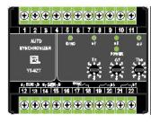 F96-SZT-II自动准同步器 F96-SZT-II