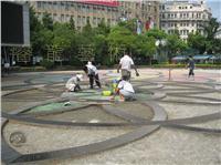 南京东路透水地坪施工 根据要求