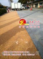 透水胶粘石,天然卵石地坪,透水胶彩石路面
