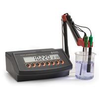 哈纳HI2216微电脑酸度pH-氧化还原ORP-离子浓度ISE-温度°C测定仪 HI2216