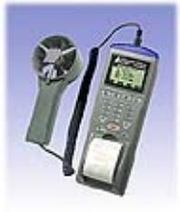 AZ9871 列表式风速/风温/风量/湿度/露点仪 (台湾衡欣 AZ)