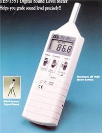 数字式噪音计TES-1351 数字式噪音计TES-1351