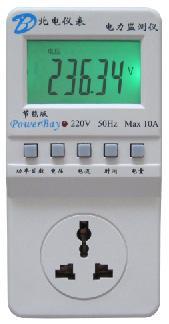 节能版智能插座式电量监测仪 节能版智能插座式电量监测仪