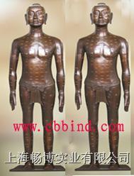 青铜针灸模型|针灸铜人|仿古针灸铜人模型 CBB-CDZJ