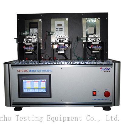 Membrane switch life testing machine