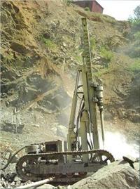 型高风压露天液压潜孔钻机 HTG120型高风压露天液压潜孔钻机
