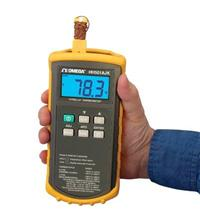 OMEGA, HH500 系列手持式数字温度计 HH501BJK