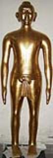 铜人针灸模型|仿古针灸铜人 SMA05