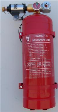 悬挂式七氟丙烷气体灭火装置、悬挂式六氟丙烷气体灭火装置、悬挂式ABC超细干粉灭火装置 XQQCW9/1.6;XQLCW9/1.2;FZBA6/1.2