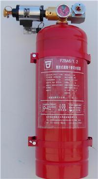悬挂式七氟丙烷气体灭火装置、悬挂式六氟丙烷气体灭火装置、悬挂式ABC超细干粉灭火装置