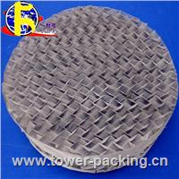Plastic structured packing