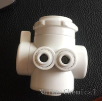 Water Purifier Parts 3 function plastic diverter valve