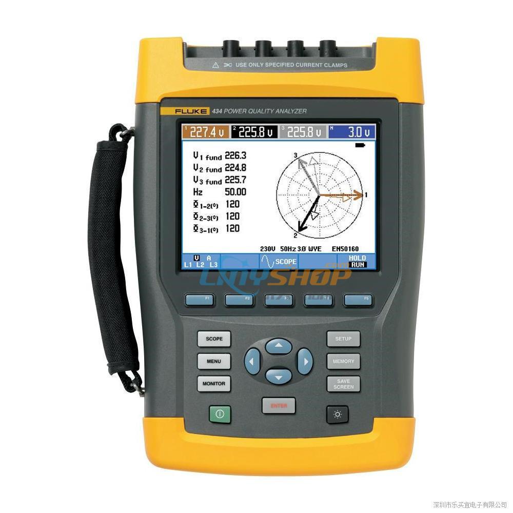 美国福禄克Fluke 434II-E系列三相电能质量分析仪